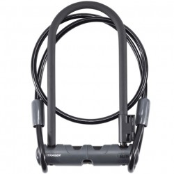 Bicycle lock Bontrager Abus Elite U-Lock with cable